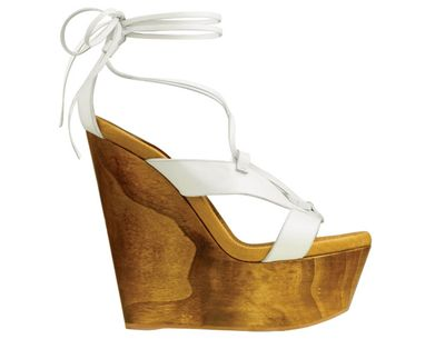 Gianvito rossie wooden wedge sandal 550