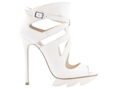 Camilla Skovgaard white cut out heels 367