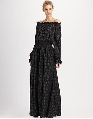 RZ Diane Blouson Maxi Dress 357