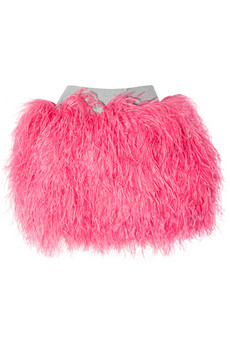 D&G Ostrich feather skirt 1615