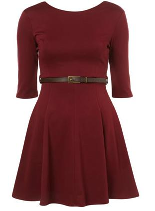 TopShop Rare - Skater Belt Dress 32