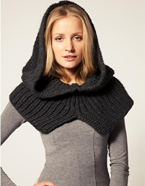 French Connection Snood With Hood 40