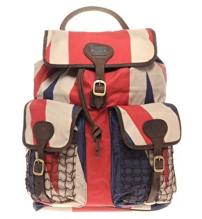Barbour BeaconBackpack with Union Jack Detail 200