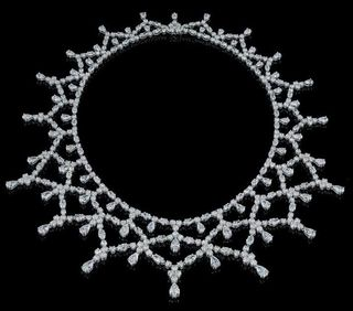 Harry Winston Lace Necklace