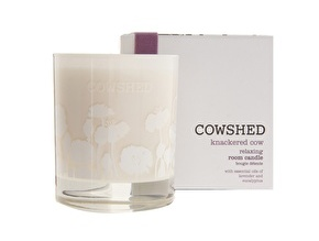 Cowshed Knackered Cow relaxing room candle 30