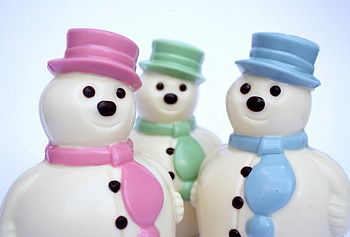 NOTHS Fat Choc Snowman - Madame Oiseau fine chocs 10