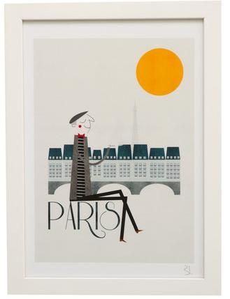 Pedlars City Print Paris 79
