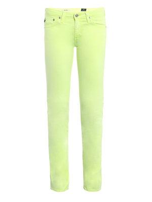 AG neon lime stilt jeans