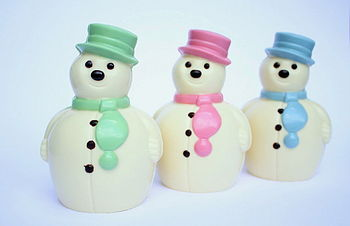 NOTHS Fat Choc Snowman - Madame Oiseau fine chocs 10 2