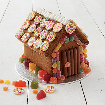 NOTHS Gingerbread xmas house kit - cat whiskers cake design 25