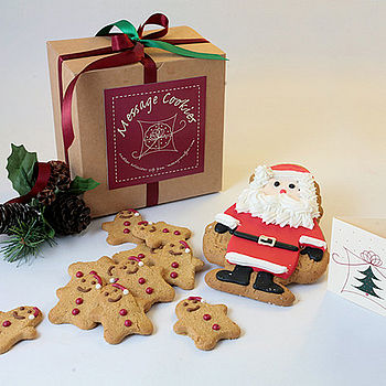 NOTHS Santa and his mini helpers cookie feast - message muffins 16