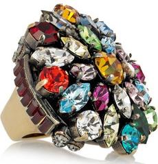 Emilio Pucci Crystal ring 280