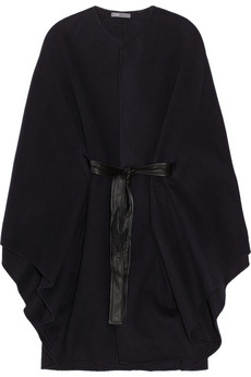 Vince Belted wool blend cape 655