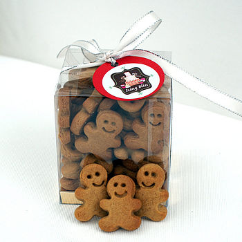 NOTHS Box of 40 mini gingerbread men biscuits - icing bliss 9
