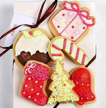 NOTHS xmas biscuit box small - bisquites 18