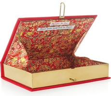 Olympia Le-Tan The catcher in the rye embroidered clutch 955 2