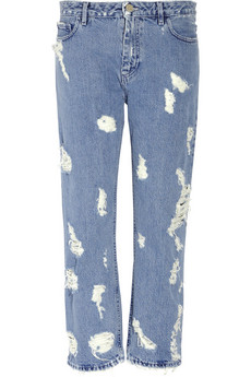 Acne pop trash high rise distressed jeans 310