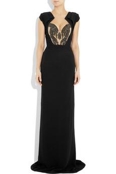 Antonio Berardi Crystal embellished crepe gown 4430 2