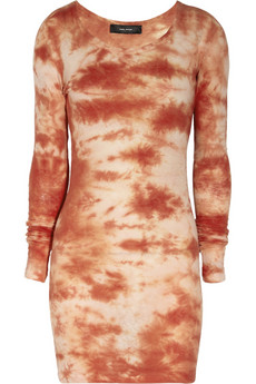 Isabel Marant Tie Dye Print Cotton Jersey Dress 150
