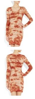 Isabel Marant Tie Dye Print Cotton Jersey Dress 150 12