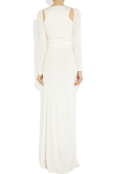 Cavalli Cutout embellished jersey gown 1285 2