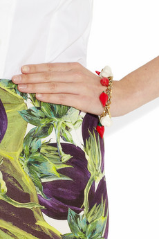 D&G Cameo and vegetable bracelet 345 2