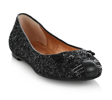 Marc By Marc Jacobs Glitter Mouse Shoes £228