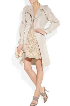 Lanvin Embellished taffeta trench coat 3315 3