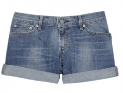 Levi turn up denim shorts 50