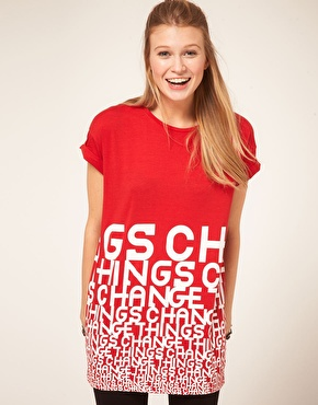ASOS T-shirt w things change 18