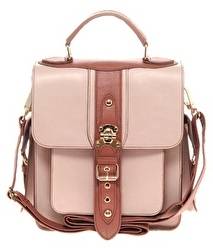 River Island Large Buckle Satchel 40