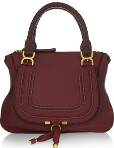 Chloe Marcie Medium Textured Leather Tote £1,020