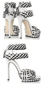 Camilla Skovgaard Woven leather sandals 380 12