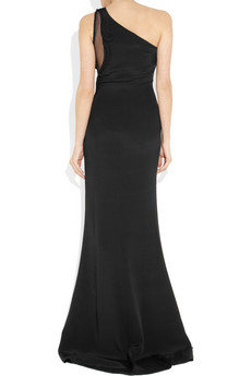 Stella McCartney Ferguson one-shoulder silk gown 3155 3