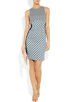Stella McCartney Madison Printed Stretch Jersey Dress 1190 2