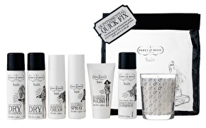 Percy & Reed Mini Quick Fix Travel Pack With FREE Fragrance Candle 24
