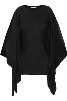 Michael Kors Poncho Effect Fine Knit Sweater