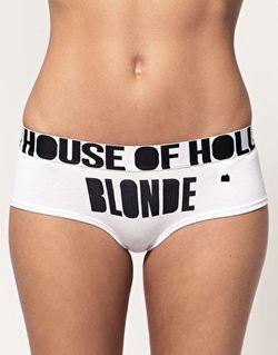 HOH Blonde cheeky short 16