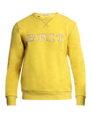 Burberry Brit Apthorpe hessian brit sweatshirt 150