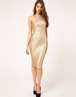 TFNC cut out racer sequin midi dress 65 - 52