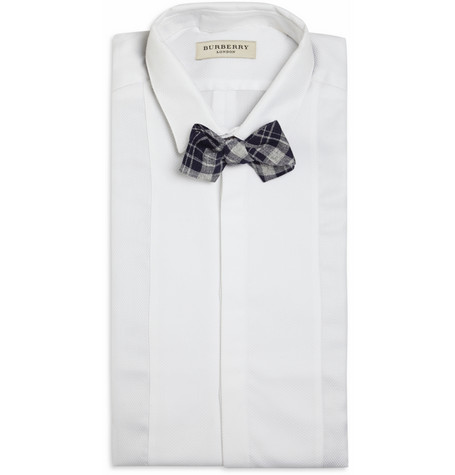 Alexander Olch Plaid Cotton Bow Tie £85 2