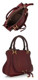 Chloe Marcie Medium Textured Leather Tote £1,020 12