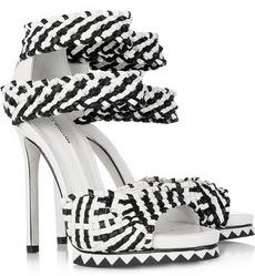 Camilla Skovgaard Woven leather sandals 380