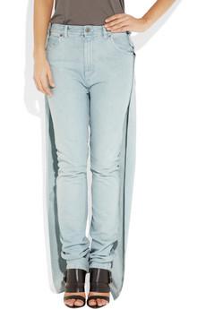 Margiela Overlay high-rise wide-leg jeans 420 2
