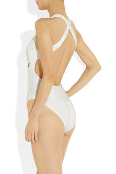 Herve Leger Cutout bandage swimsuit 835 2