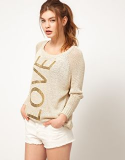 River Island Love JUmper 35