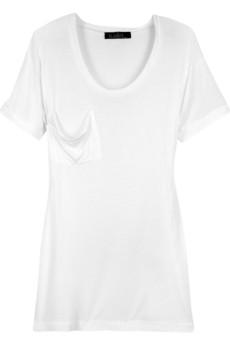Kain modal and silk blend tshirt 75