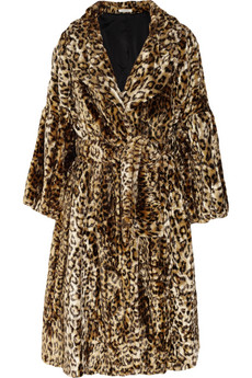 Nina Ricci Leopard Print Faux Fur Coat £2,200 NOW £1,540