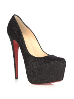 Christian Louboutin Daffodile 160mm Pony Skin Pumps £775