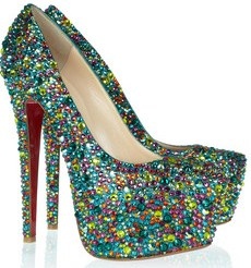 Christian Louboutin Daffodile 160 Crystal Embellished Leather Pumps £3,795